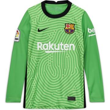 Maillot gardien junior FC Barcelone vert 2020/21