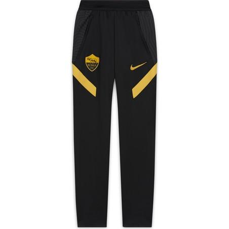 Pantalon survêtement junior AS Roma noir jaune 2020/21
