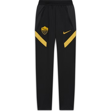 Pantalon survêtement junior AS Roma noir jaune 2020/21