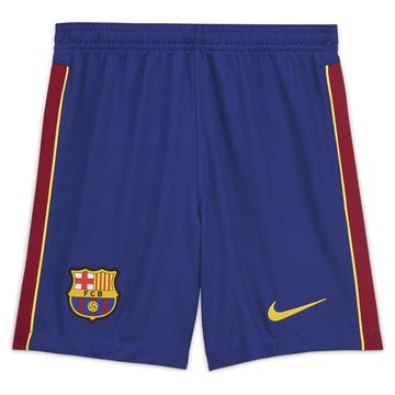 Short junior FC Barcelone domicile 2020/21