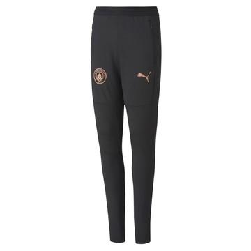 Pantalon survêtement junior Manchester City gris cuivre 2020/21