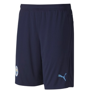Short entraînement Manchester City bleu 2020/21