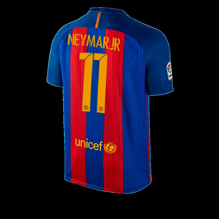 Maillot Neymar FC Barcelone domicile 2016 - 2017