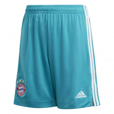 Short gardien junior Bayern Munich bleu 2020/21