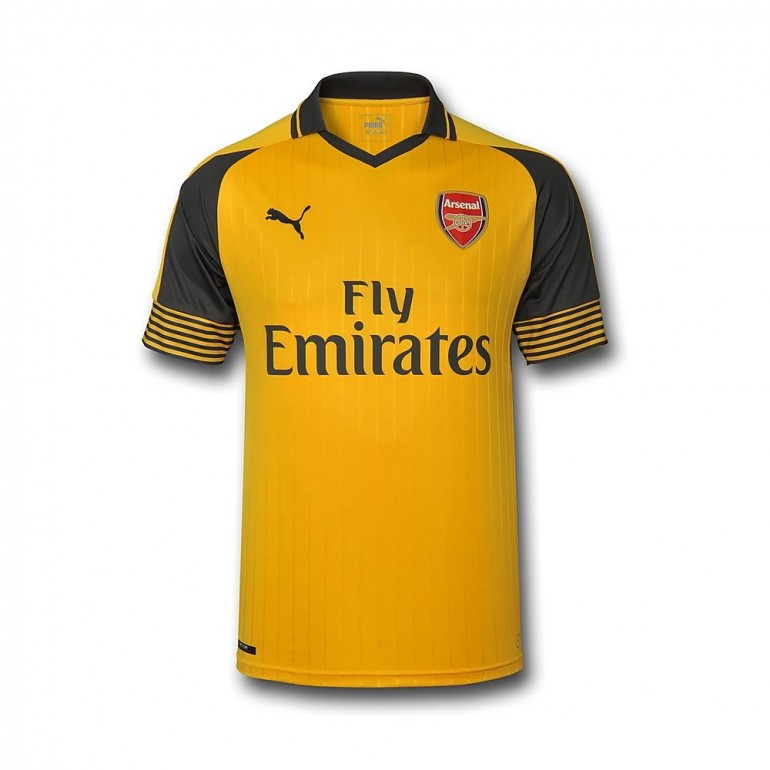 Maillot ext rieur arsenal 2016 2017 sur for Arsenal maillot exterieur 2013