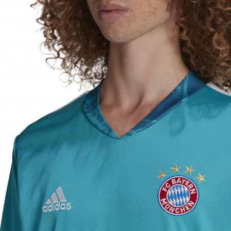 Maillot gardien manches longues Bayern Munich bleu 2020/21