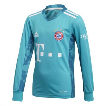 Maillot gardien manches longues junior Bayern Munich bleu 2020/21