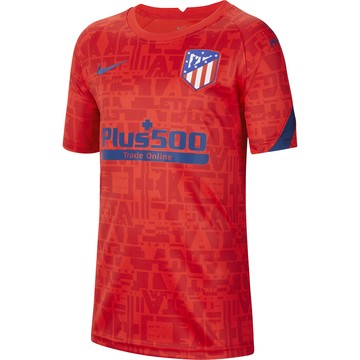 Maillot avant match junior Atlético Madrid rouge 2020/21