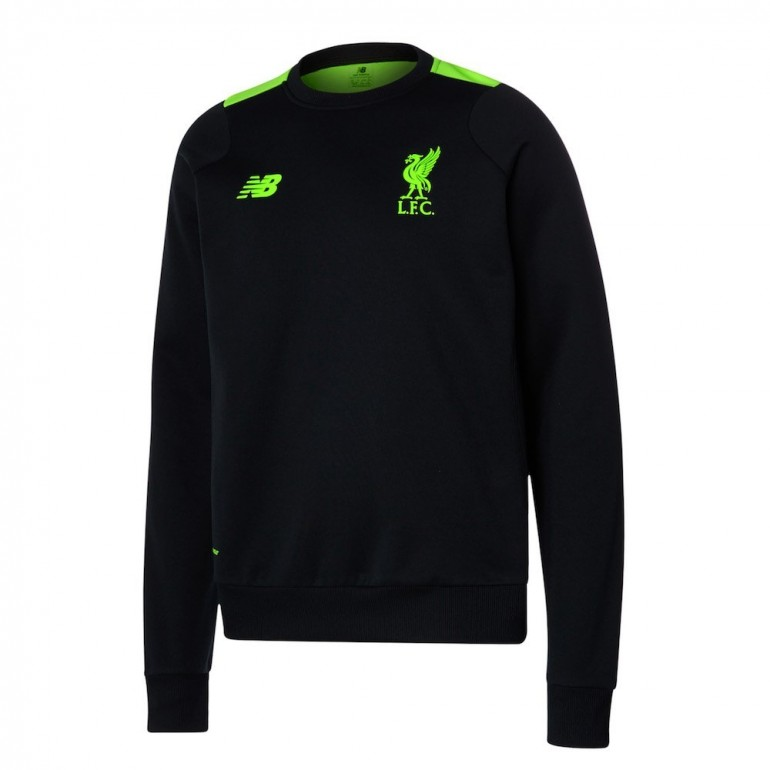 Sweat Liverpool noir 2016 - 2017