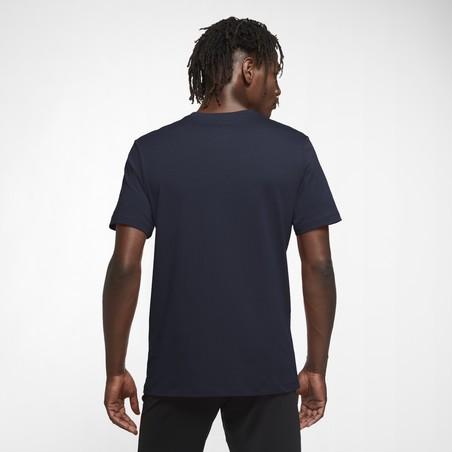 T-shirt FC Barcelone noir rouge 2020/21