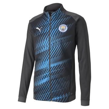 Veste survêtement Manchester City graphic bleu 2019/20