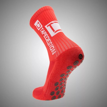 Chaussettes Anti-Grip TapeDesign rouge