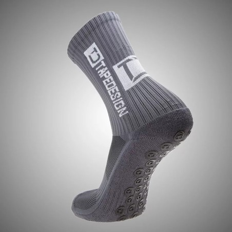 Chaussettes Anti-Grip TapeDesign gris
