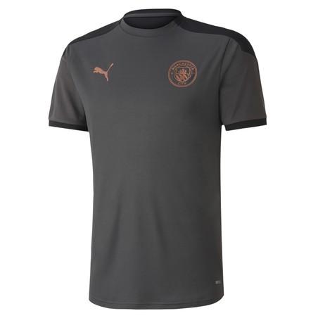 Maillot entraînement junior Manchester City gris cuivre 2020/21