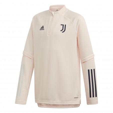 Sweat zippé junior Juventus rose 2020/21