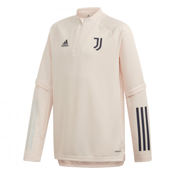 Sweat zippé junior Juventus rose 2020/21