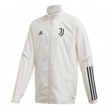 Veste entraînement junior Juventus blanc 2020/21