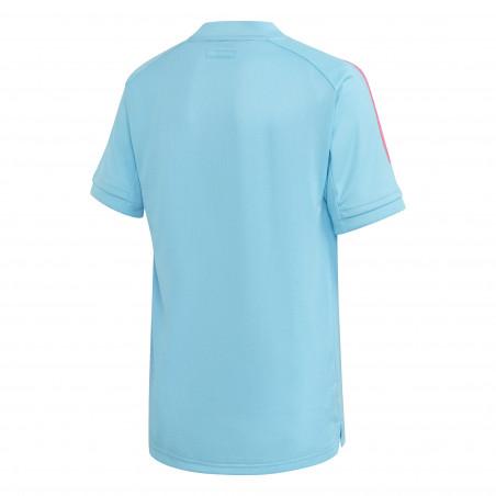 Maillot entraînement junior Real Madrid bleu clair 2020/21