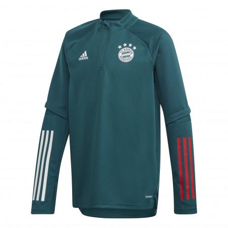 Sweat zippé junior Bayern Munich vert 2020/21