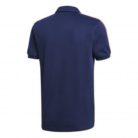 Polo Real Madrid bleu rose 2020/21