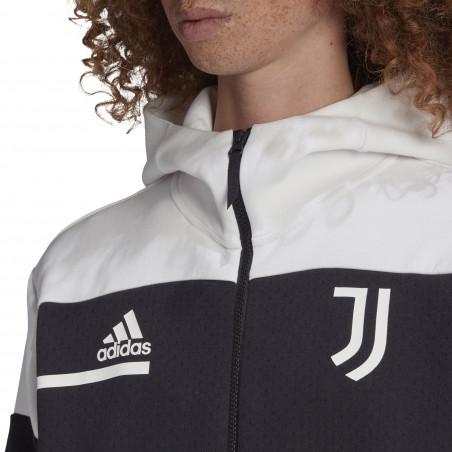 Veste survêtement Juventus ZNE noir blanc 2020/21