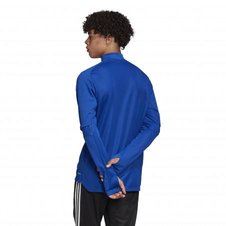 Sweat zippé RC Strasbourg bleu 2020/21