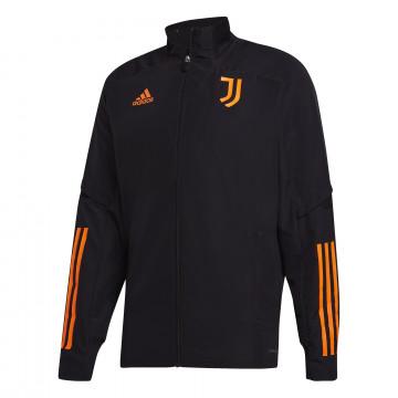 Veste entraînement Juventus Europe noir orange 2020/21