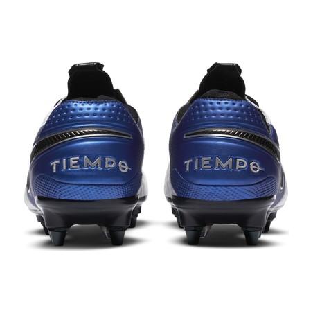 Nike Tiempo Legend 8 Elite SG-Pro Anti-Clog bleu blanc