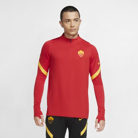 Sweat zippé AS Roma rouge 2020/21