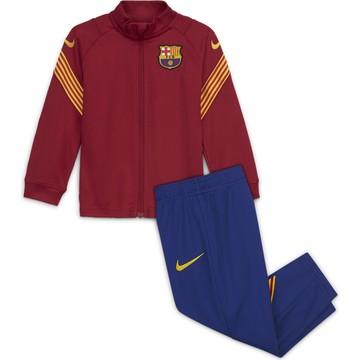 Ensemble survêtement bébé FC Barcelone rouge bleu 2020/21