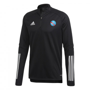 Sweat zippé RC Strasbourg noir 2020/21