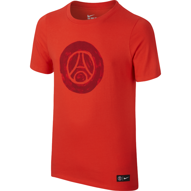 T-Shirt PSG Junior Crest rouge