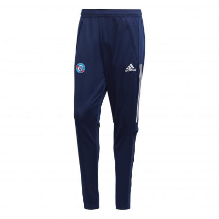 Pantalon survêtement junior RC Strasbourg bleu 2020/21