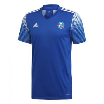Maillot avant match junior RC Strasbourg bleu blanc 2020/21