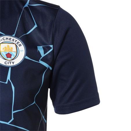 Maillot avant match Manchester City bleu 2020/21