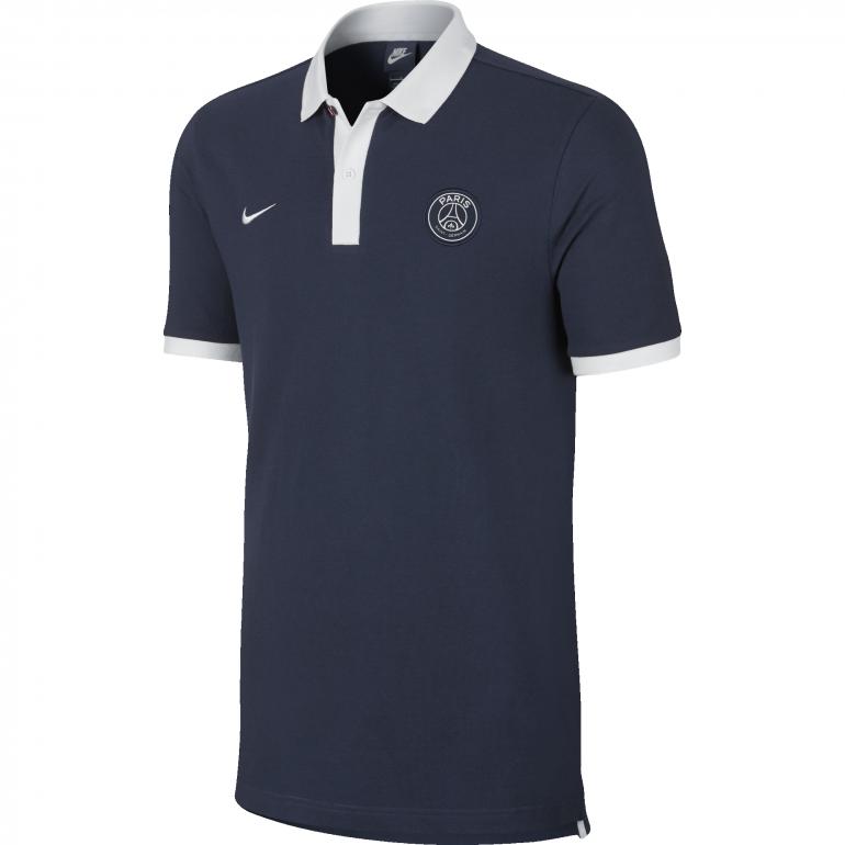 Polo PSG Core bleu