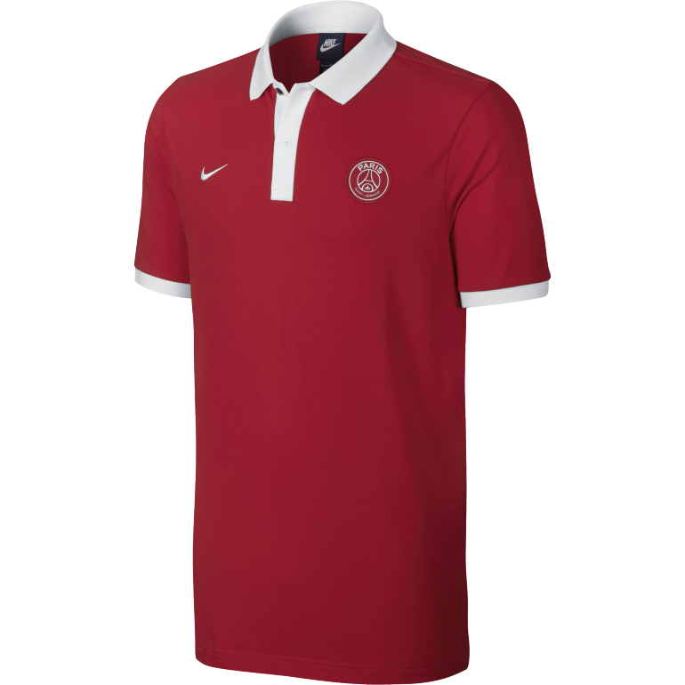 Polo PSG Core rouge