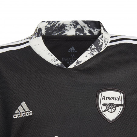Maillot gardien manches longues junior Arsenal noir 2020/21