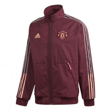 Veste survêtement Manchester United Anthem rouge 2020/21