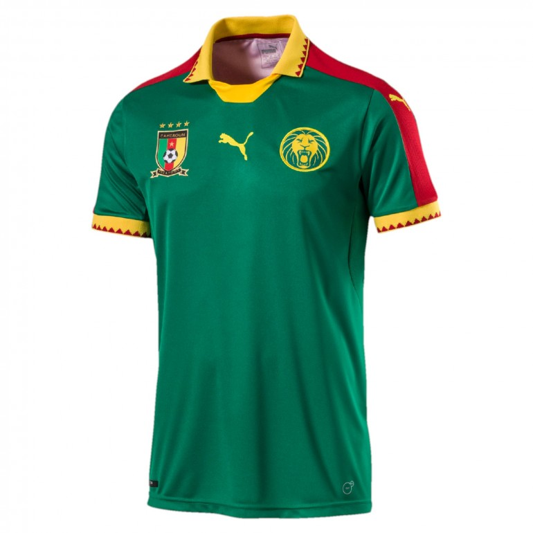 Maillot Cameroun domicile CAN 2017