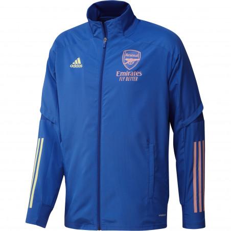Veste entraînement Arsenal bleu rose 2020/21