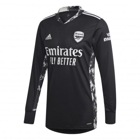 Maillot gardien manches longues Arsenal noir 2020/21