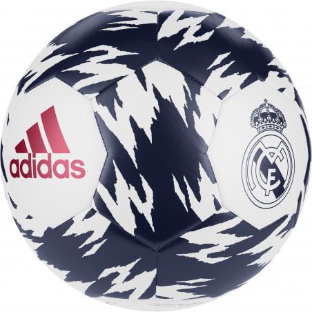 Ballon Real Madrid blanc bleu 2020/21