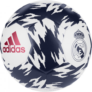 Ballon Real Madrid blanc bleu 2020/21