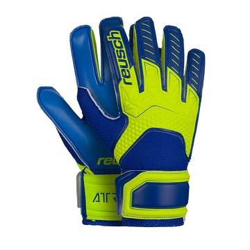 Gants Gardien junior Reusch Attrakt bleu jaune