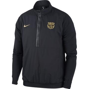 Sweat demi-zip FC Barcelone noir or 2020/21