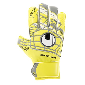 Gants Gardien junior Uhslport Startersoft jaune
