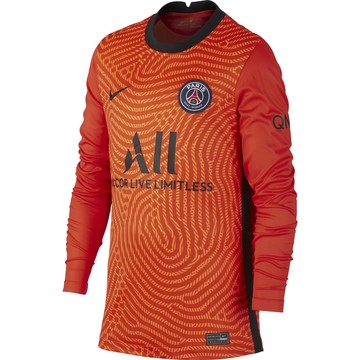 Maillot gardien junior PSG rouge 2020/21