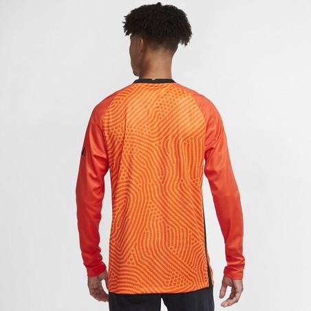 Maillot gardien manches longues PSG orange 2020/21