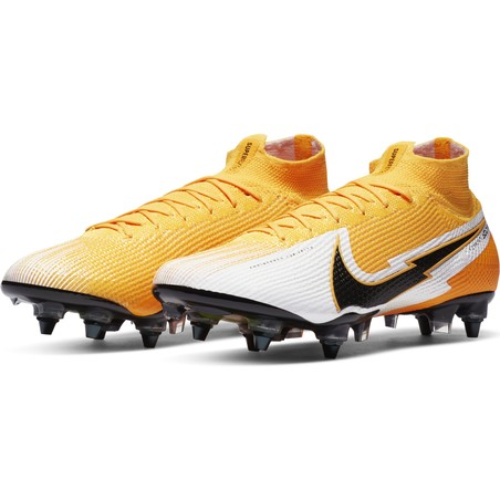 Nike Mercurial Superfly VII Elite Anti-Clog SG-PRO jaune